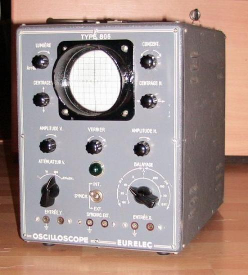 Oscilloscope Eurelec 806