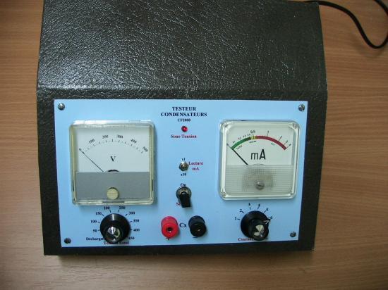 testeur de condensateurs