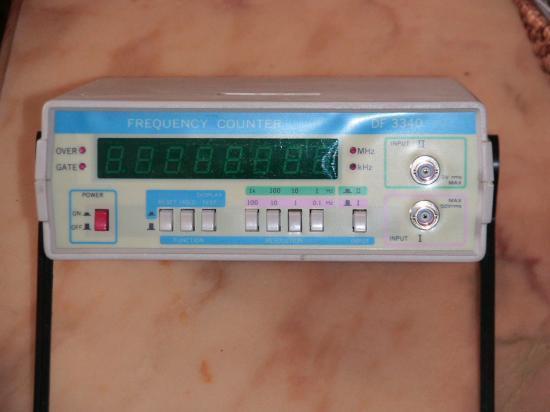 Fréquencemètre DF3340
