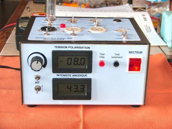 Lampemetre tubes BF