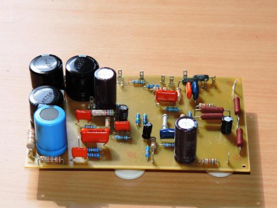 Pcb cote composants